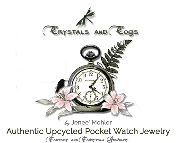 Crystals and Cogs - Authentic Upcycled Antique Neo-Victorian and Steampunk Jewelry, along with Harry Potter-inspired items